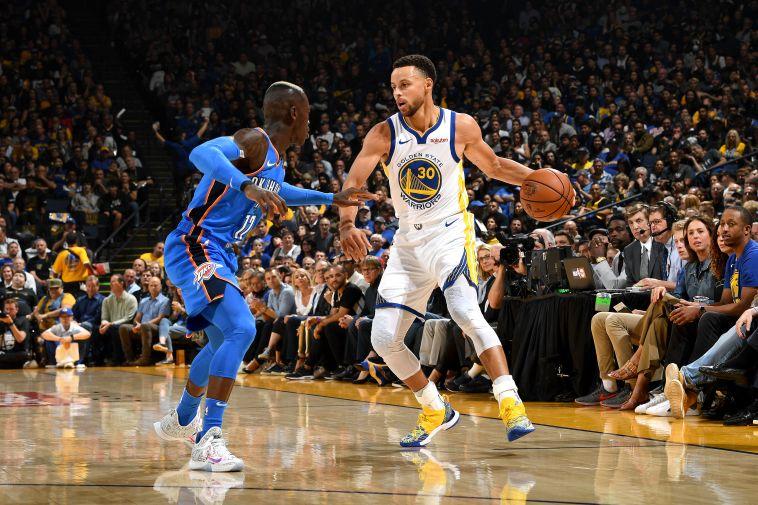 נפתחה עונת ה-NBA: גולדן סטייט התקשתה מול אוקלהומה