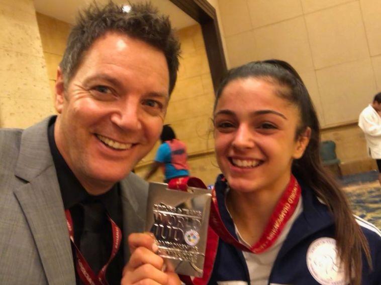 ילדת פלא: מדליית כסף לגפן פרימו באליפות העולם לנוער