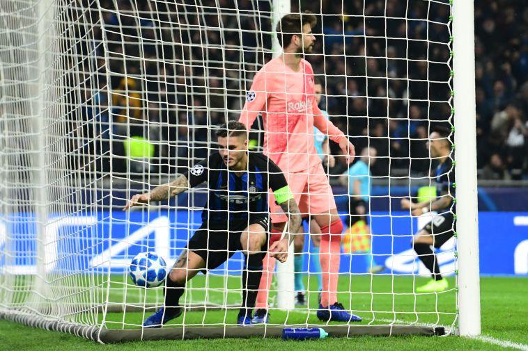 אינטר חילצה 1:1 מברצלונה, שהבטיחה עלייה לשמינית הגמר