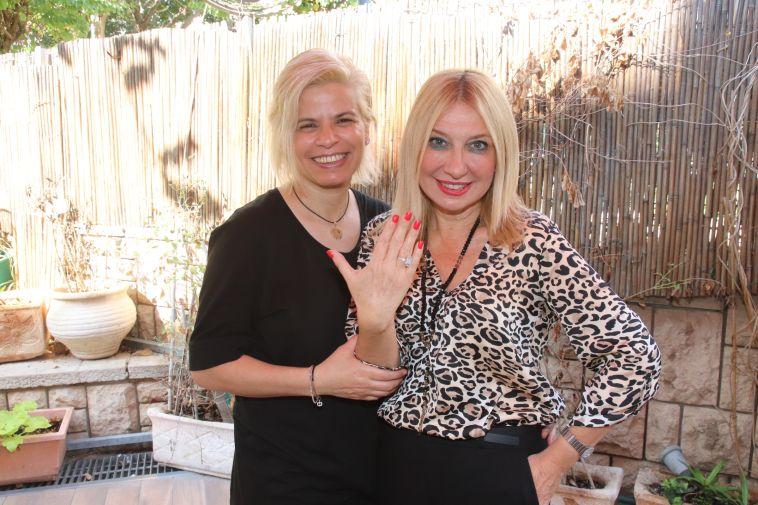 שמה טבעת: סילבי ז׳אן הציעה נישואין לבת הזוג