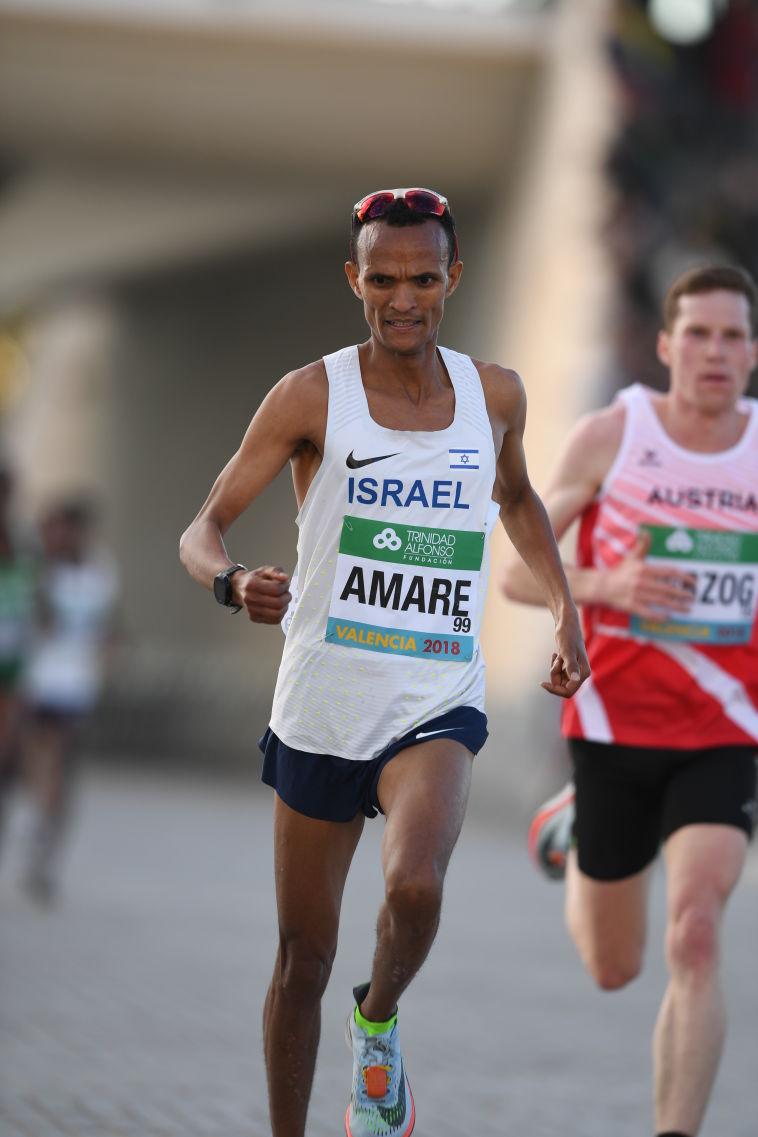 שיא ישראלי חדש לגירמה אמרה במרתון