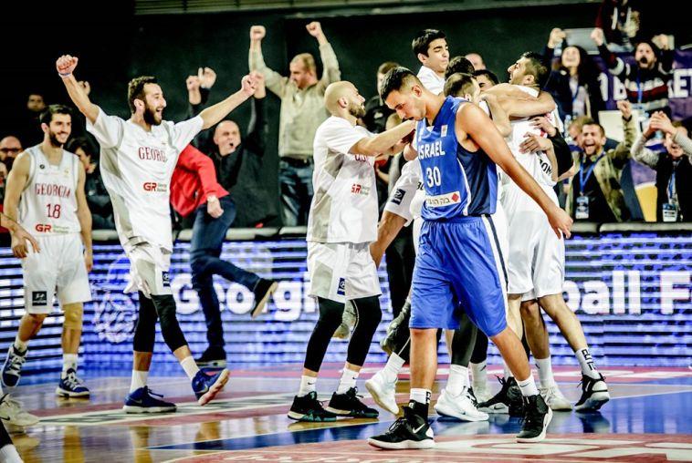 נגמר החלום? אחרי הארכה ישראל הפסידה 71:69 לגיאורגיה על הבאזר