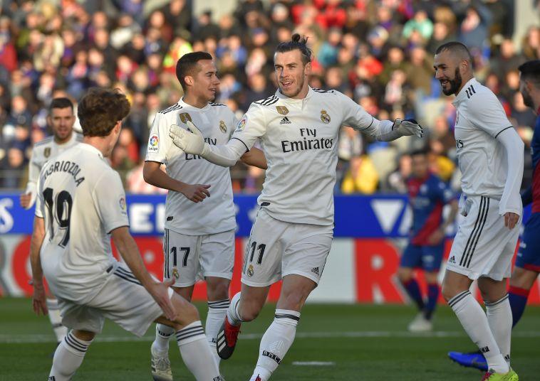 לפחות בייל הבקיע: 0:1 לריאל מדריד על הואסקה