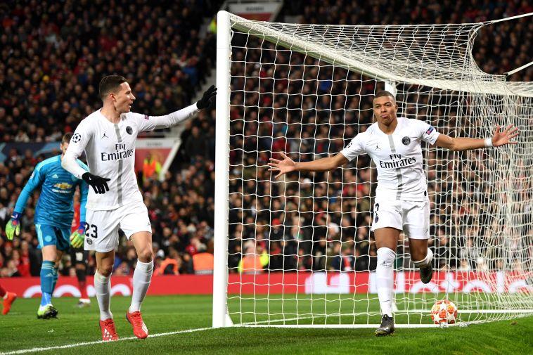 ניימאר מי? פריז סן ז'רמן ניצחה 0:2 את מנצ'סטר יונייטד