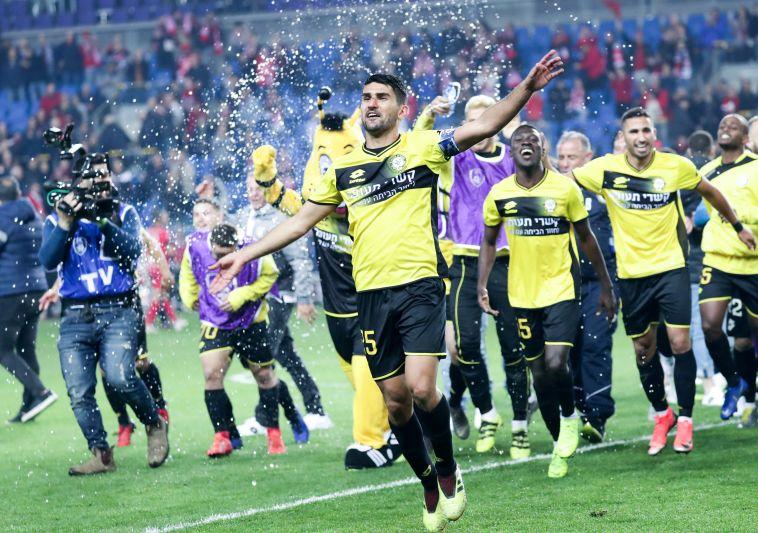 מכבי נתניה בגמר גביע המדינה אחרי 0:1 על הפועל חדרה