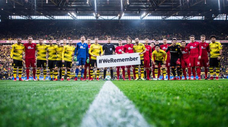 קבוצות בגרמניה בזיכרון השואה