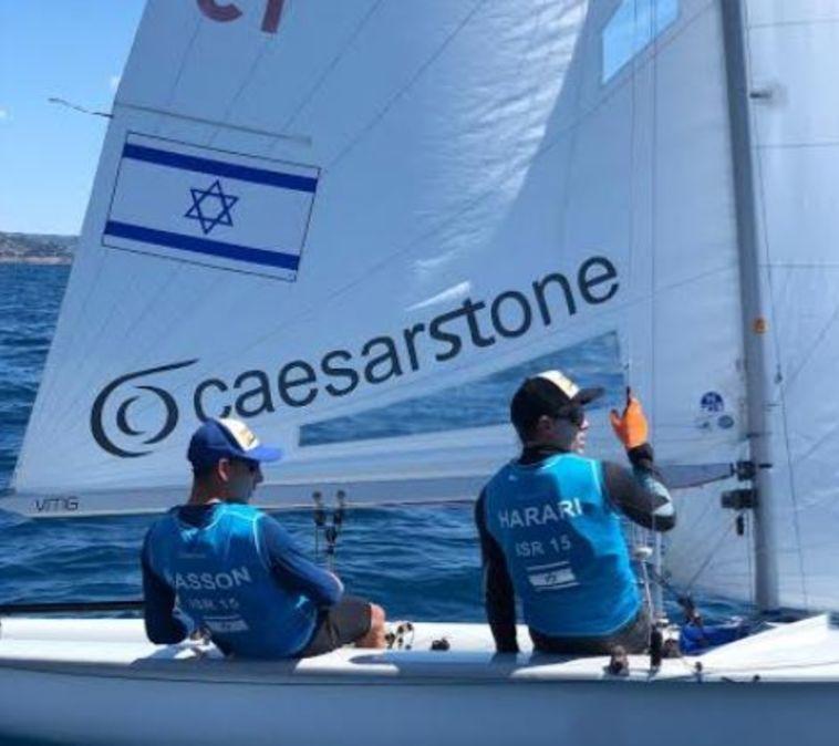 מפרשיות 470: חסון והררי ניצחו בשיוט האחרון ערב הגמר