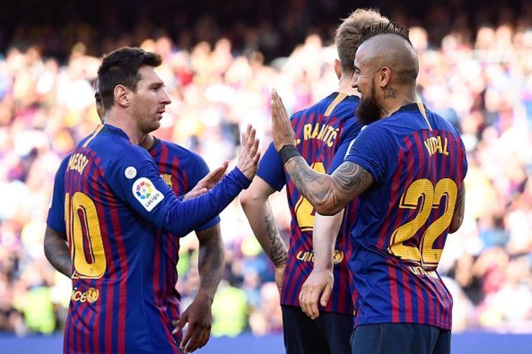 חטאפה הפסידה בברצלונה, ולנסיה התקרבה לליגת האלופות