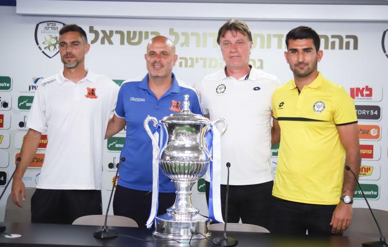 """אבוקסיס: """"גם לבני יהודה וגם למכבי נתניה מגיע לזכות בגביע"""""""