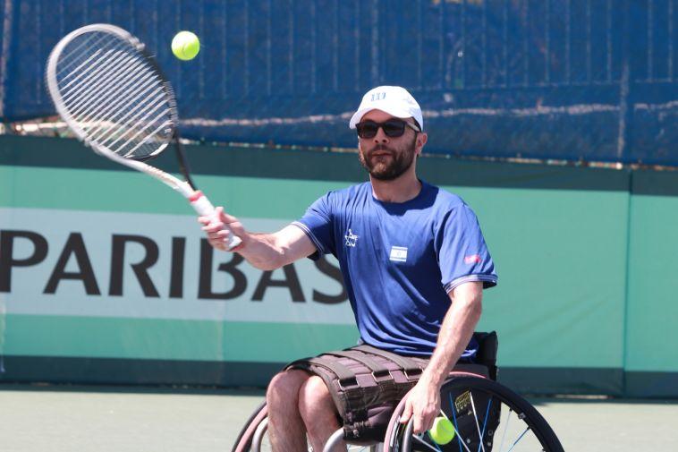 טניס בכיסאות גלגלים: ישראל גברה 1:2 על ברזיל והעפילה לחצי הגמר