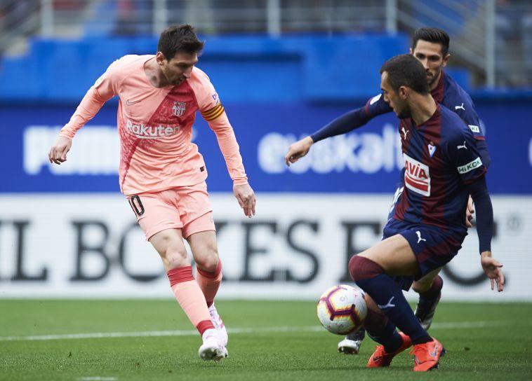 ליאו מסי כבש צמד, ברצלונה סיימה את העונה עם 2:2 באייבר