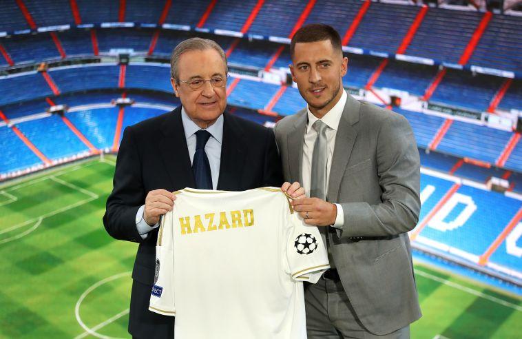 """הזאר הוצג בריאל מדריד: """"אנסה להיות השחקן הטוב בעולם"""""""