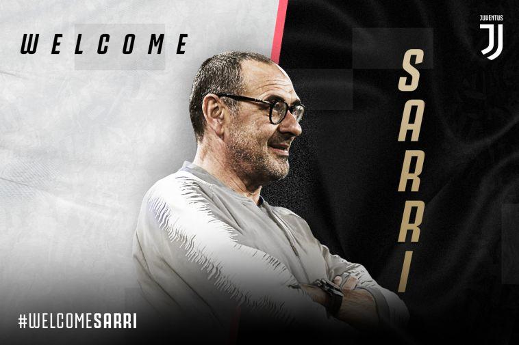כצפוי: מאוריציו סארי מונה למאמן יובנטוס