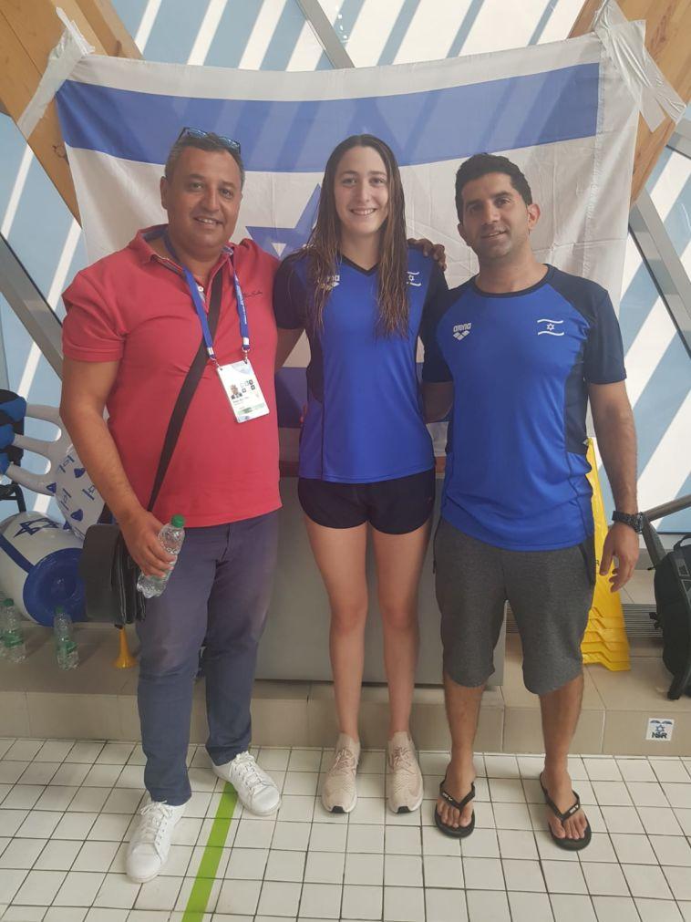 שיא ישראלי לאביב ברזלי באליפות אירופה לנוער