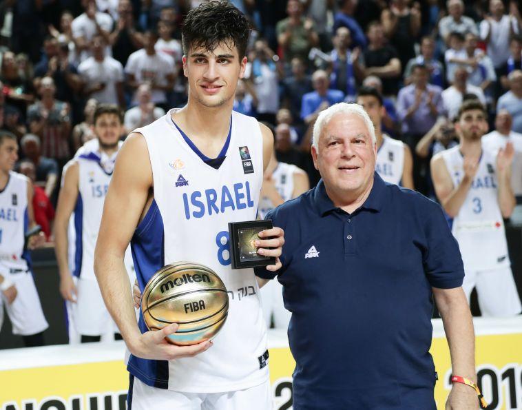 דני אבדיה נבחר ל-MVP של הטורניר, גם ים מדר בחמישייה