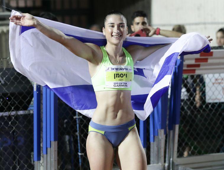דיאנה ויסמן שברה פעם נוספת את שיא ישראל ב-100 מטרים