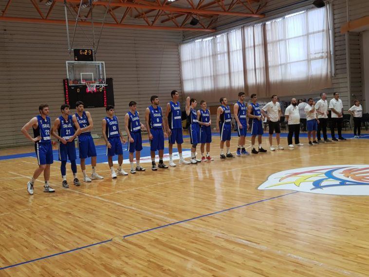 בדרך לדרג א': נבחרת הנוער הביסה 53:97 את איסלנד