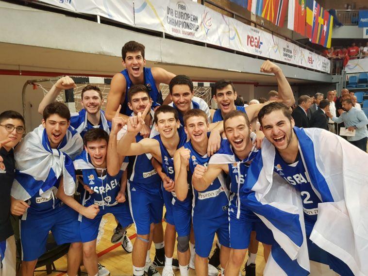 דאבל אירופי: נבחרת הנוער זכתה באליפות אירופה דרג ב'