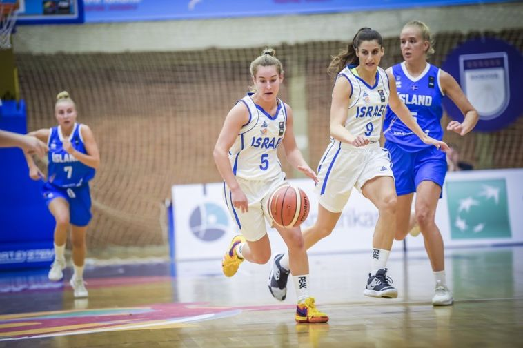נבחרת העתודה בכדורסל נשים העפילה לשלב הבתים השני