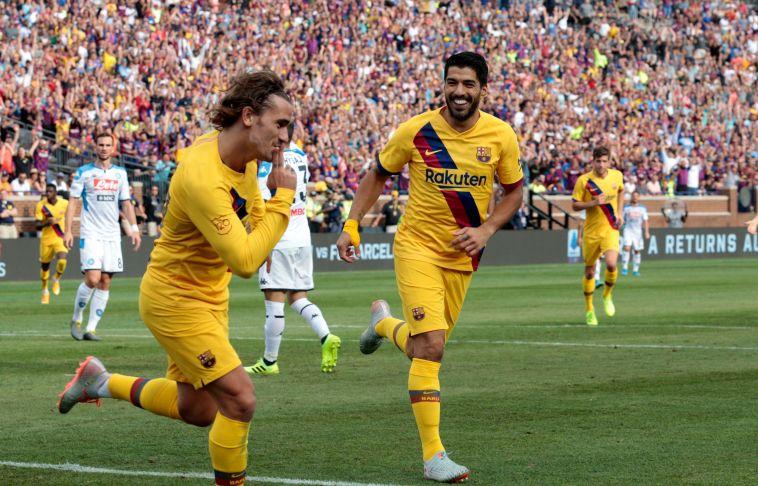 הערכות בספרד: מסי, סוארס וגריזמן ישחקו נגד ולנסיה
