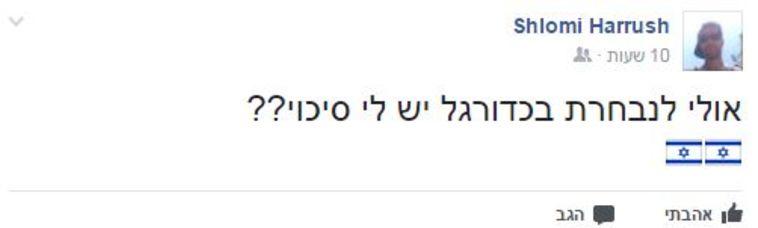 (צילום מעמוד הפייסבוק של שלומי הרוש)