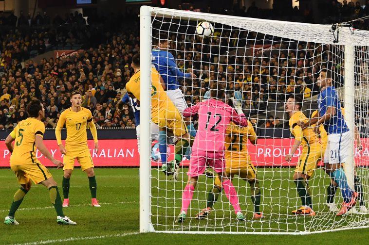 נבחרת ברזיל. טיילה מול אוסטרליה (gettyimages)