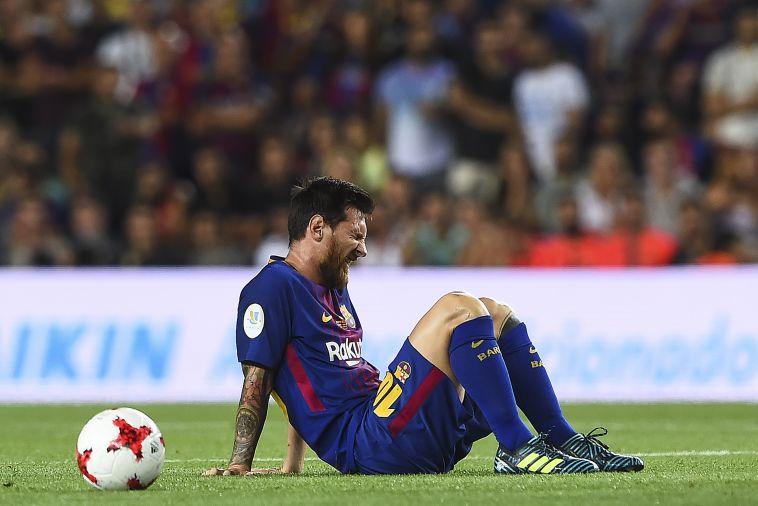 """ליאו מסי. """"צריך לעזוב את ברצלונה"""" (AFP)"""