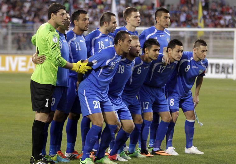 נבחרת אוזבקיסטן. רוצה להתגבר על תווית הלוזרית