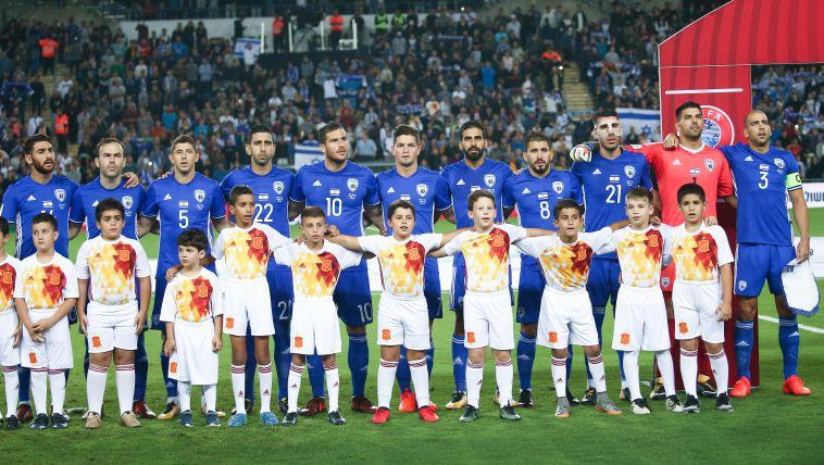 שחקני נבחרת ישראל (דני מרון)