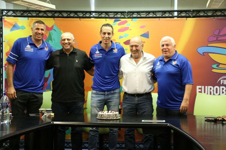 צוות הכדורסל של ישראל