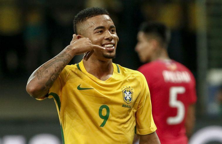 גבריאל ז'סוס. ילד הפלא של ברזיל (AFP)