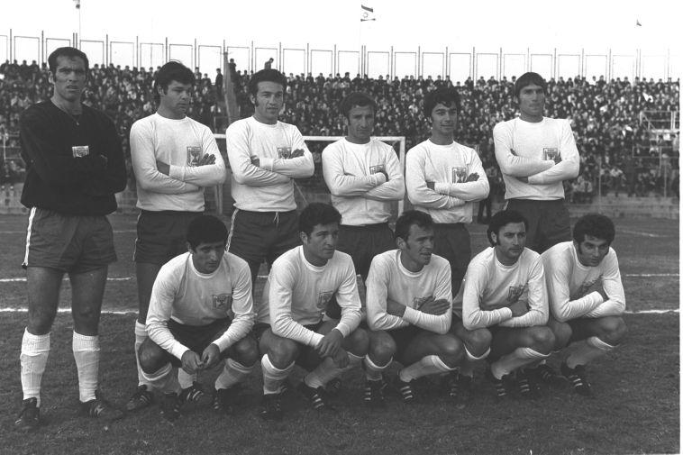 """נבחרת ישראל ב-1970. ההכנה עשתה את ההבדל (צילום: משה מילנר לע""""מ)"""