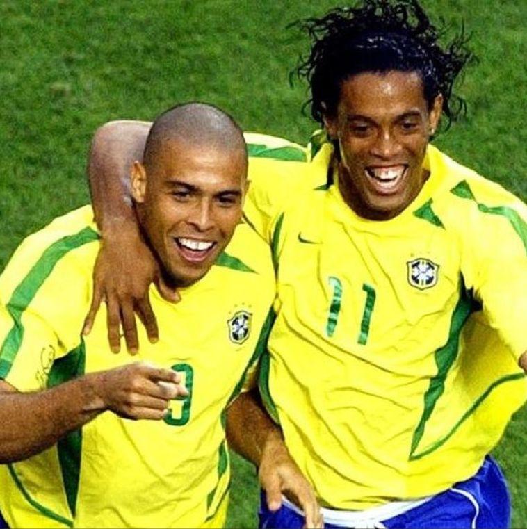רונאלדיניו ורונאלדו. הביאו את גביע העולם לברזיל (טוויטר)