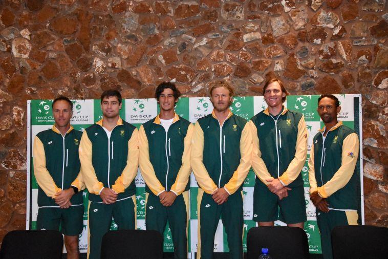 שחקני נבחרת דרום אפריקה (עפרה פרידמן, איגוד הטניס)