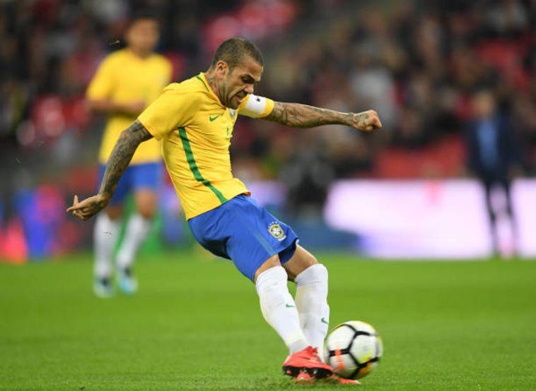 ינהיג את ברזיל בקופה אמריקה. דני אלבס (gettyimages)
