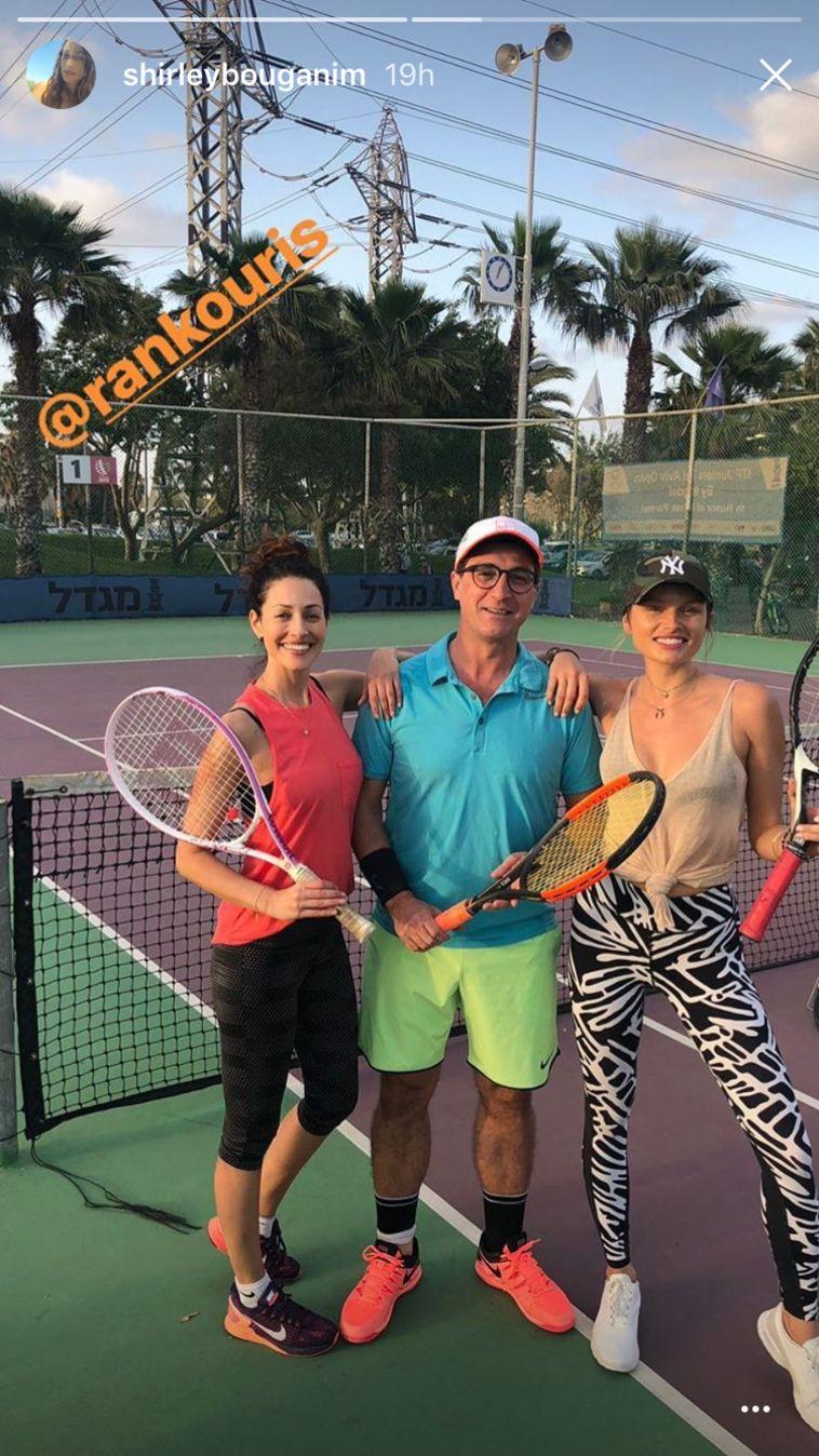 אלכסה דול באימון טניס (אינסטגרם)