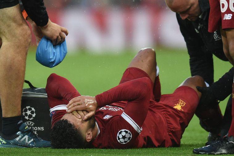 אוקסלייד צ'מברליין מקבל טיפול רפואי. כיצד זה ישפיע על המשחק של ליברפול (AFP)