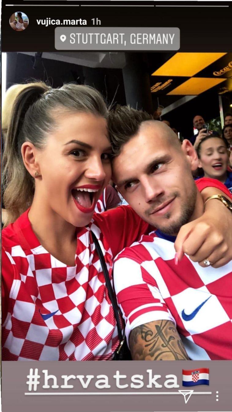 """מרסל הייסטר. ניתק קשר עם בית""""ר, מבלה בצפייה במשחק של קרואטיה (אינסטגרם)"""