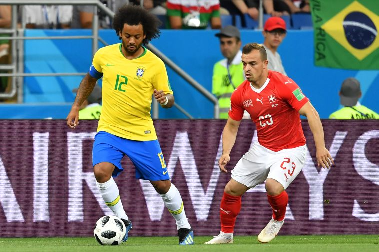 מרסלו. לברזילאים לקח בדיוק 10 דקות להתעורר (Gettyimages)