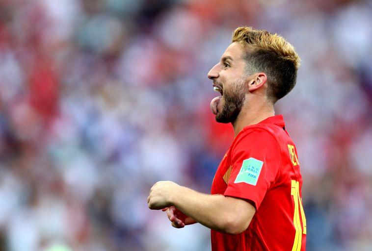 מרטנס במדי נבחרת בלגיה. יותר מדי חלוצים איכותיים (Gettyimages)