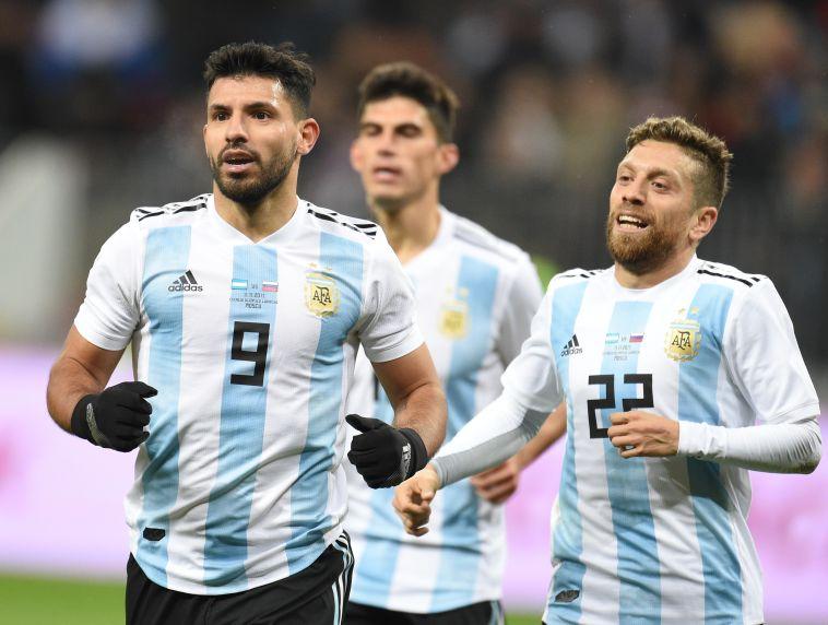 גומס במדי נבחרת ארגנטינה. כבר לא חשב שילבש אותם (Gettyimages)