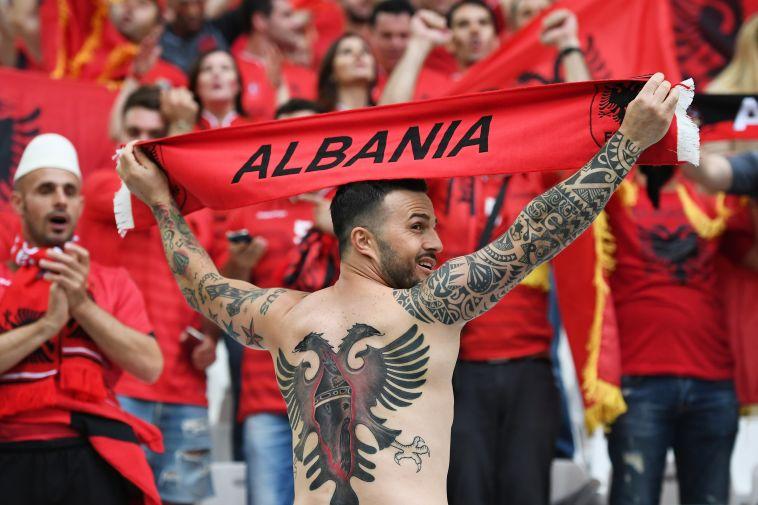 """אוהד אלבני. :אתם נלחמים עבור העצמאות שלכם"""" (Gettyimages)"""