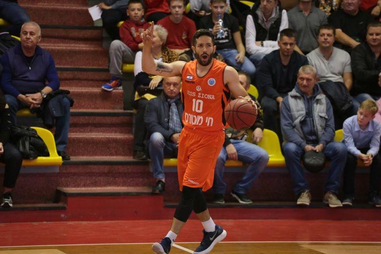 ברנדווין. משחק חלש של התקפת נס ציונה (FIBA)