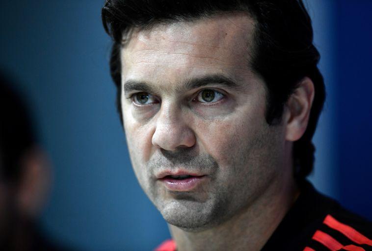 """סולארי. """"לחגוג שער לא אומר שאתה לא מכבד את הקבוצה בה שיחקת"""" (AFP)"""