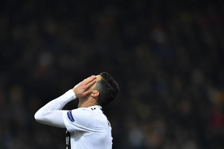 רונאלדו מאוכזב. לא מכיר הרבה את טעם ההפסד (AFP)