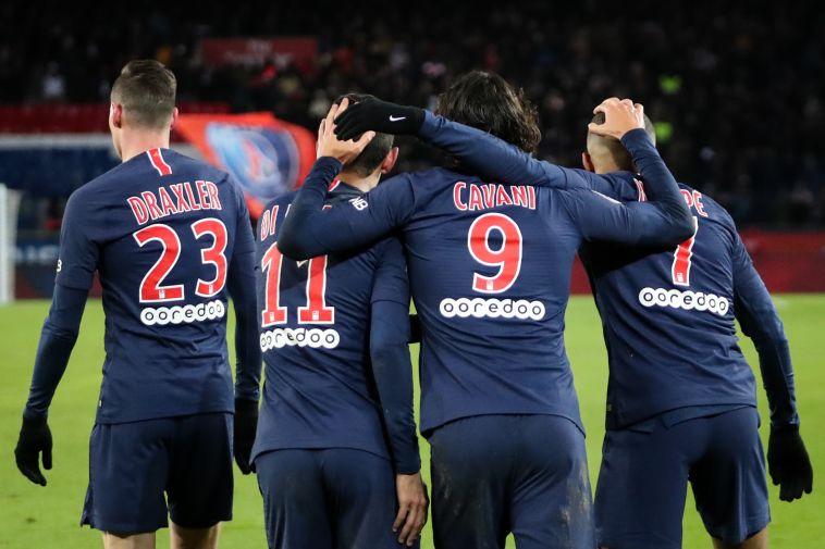 שחקני פריז סן ז'רמן. יחזרו לשחק בראש נקי (AFP)