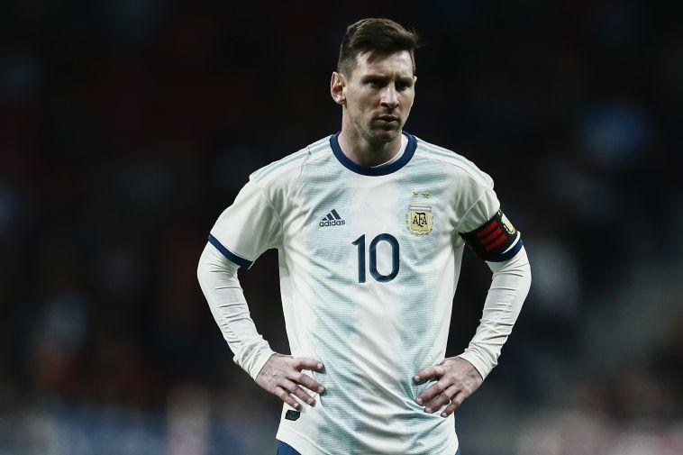 """מסי בנבחרת ארגנטינה. """"גם איתו היא מתקשה לזכות במונדיאל"""" (AFP)"""
