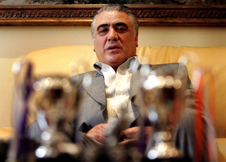 """לורנצו סאנס.""""בשינם האחרונות זכינו בליגת האלופות, ישבנו בכל מקום ואכלנו קוויאר"""" (AFP)"""