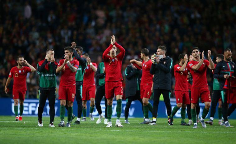פורטוגל רחוקה 90 דקות מזכייה בליגת האומות. (Jan Kruger/Getty Images)