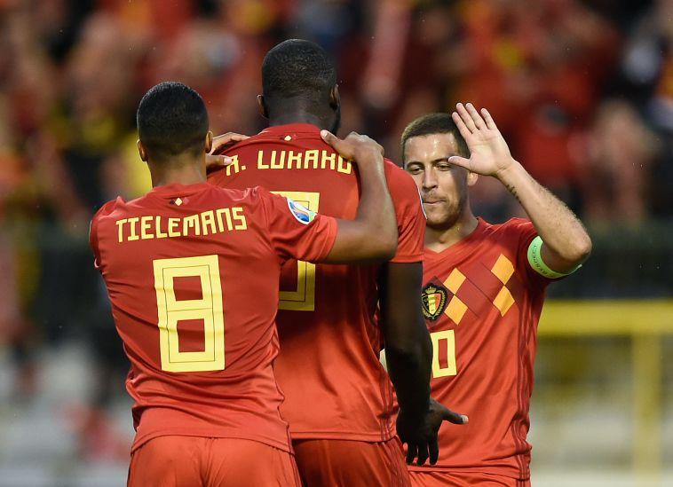 לוקאקו. שלושה שערים בשני משחקים (JOHN THYS/AFP/Getty Images)